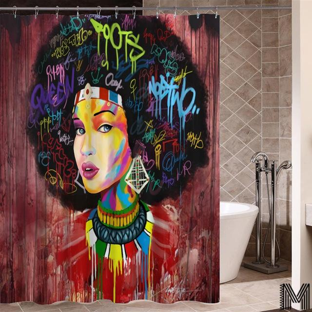 Queen of Morocco Shower Curtain