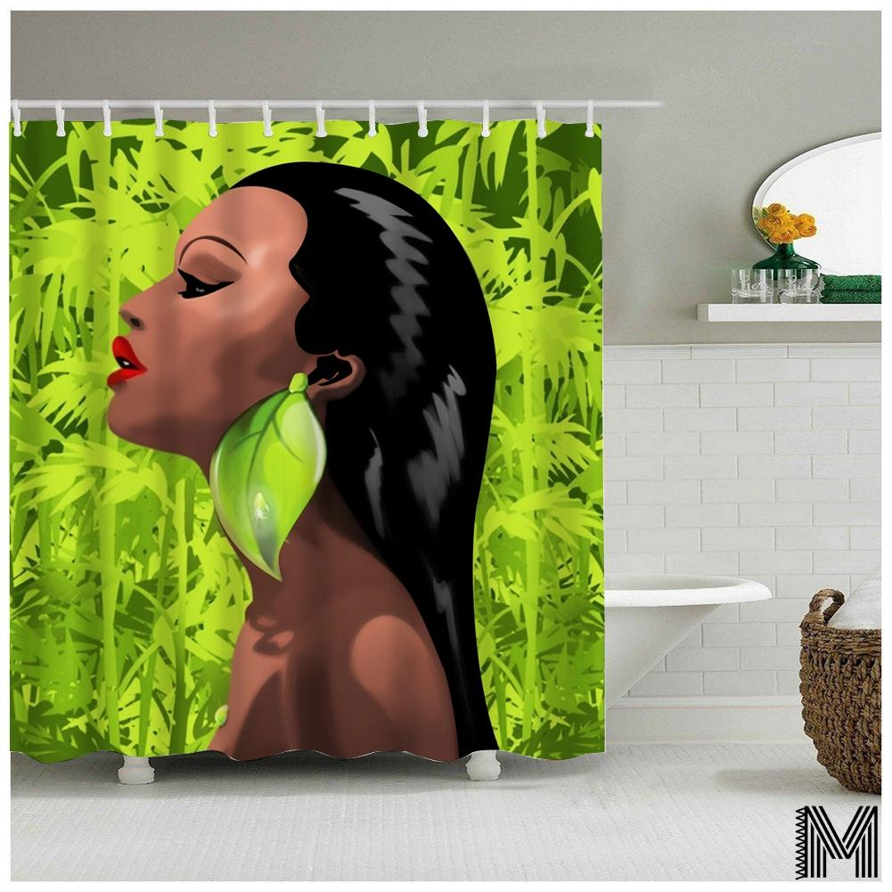 Miss Nigeria Shower Curtain