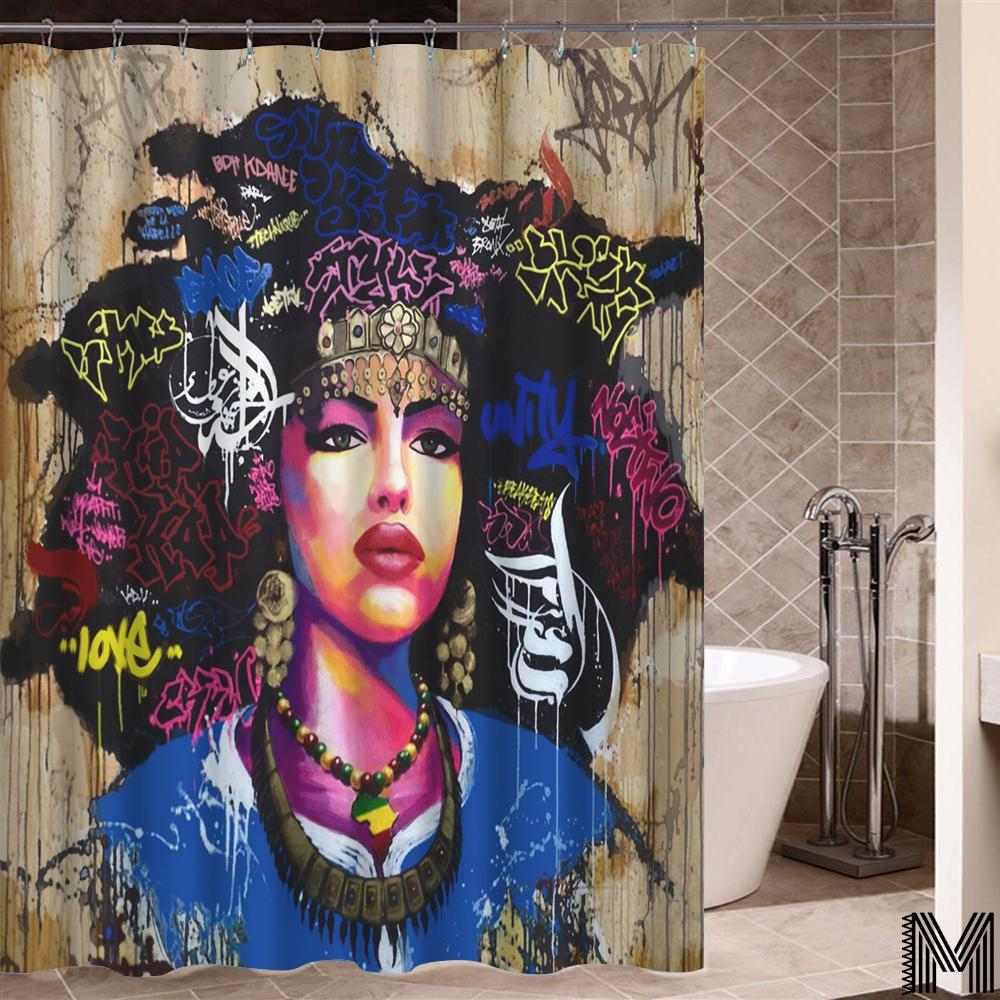 Nubian Queen Shower Curtain