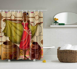 Royal Woman Shower Curtain
