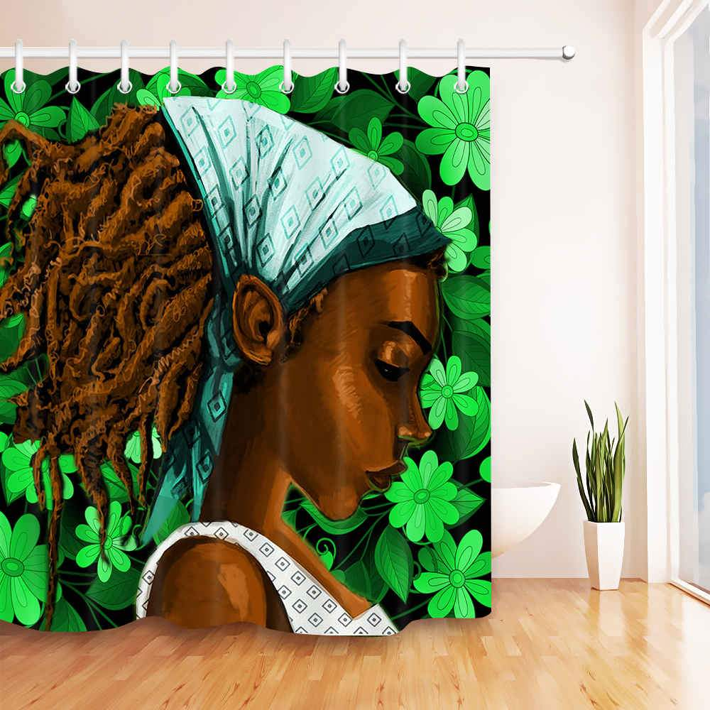 Locs Shower Curtain