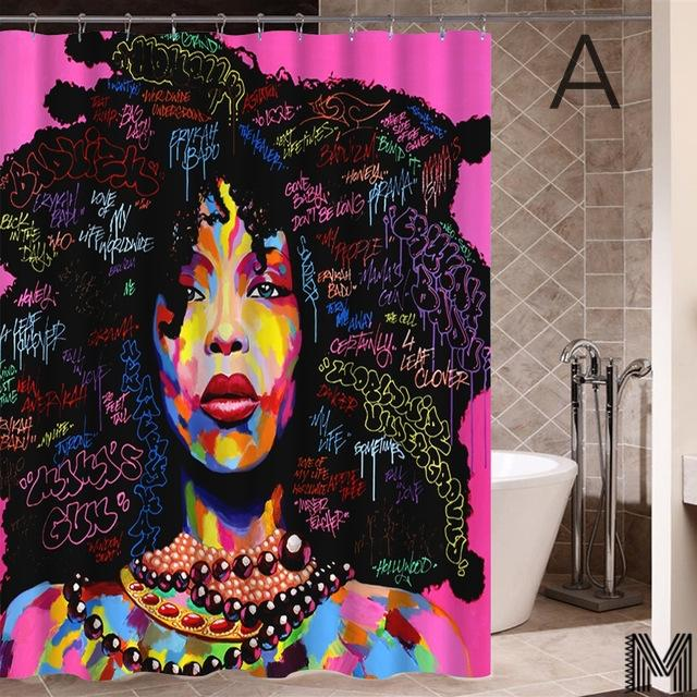 Melanin Women Shower Curtains Full Collection