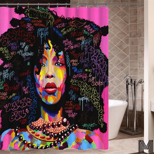 Queen Of Harmony Shower Curtain