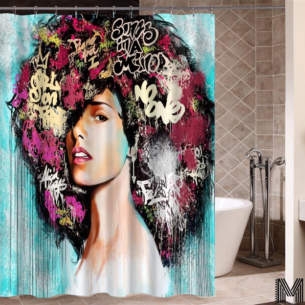 Queen of Keys Shower Curtain
