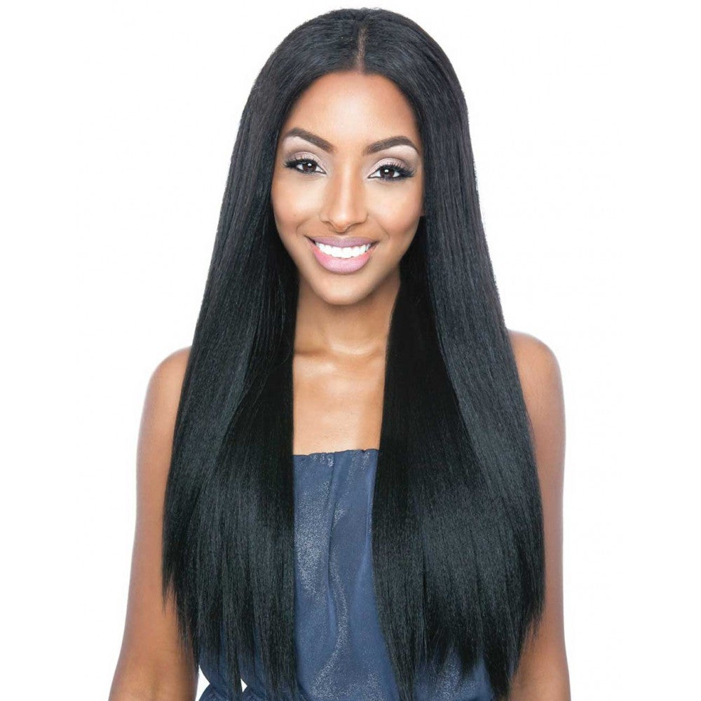 Mega Brazilian Human Hair Mix Uni Weave Straight Natural Yaky 24