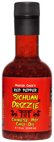 Sichuan Drizzle® Chinese Hot Chili Oil