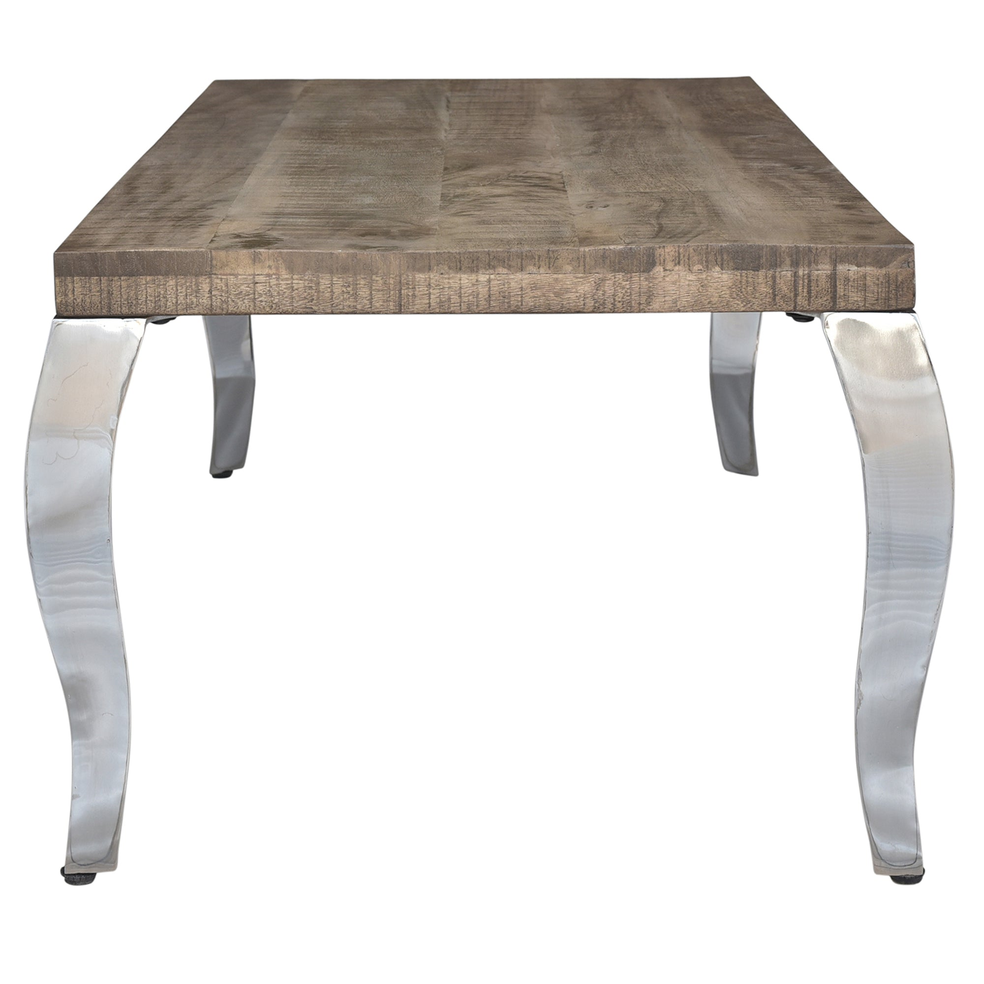 Picture of: Natalia Coffee Table Reclaimed Chrome Maison Concepts Inc
