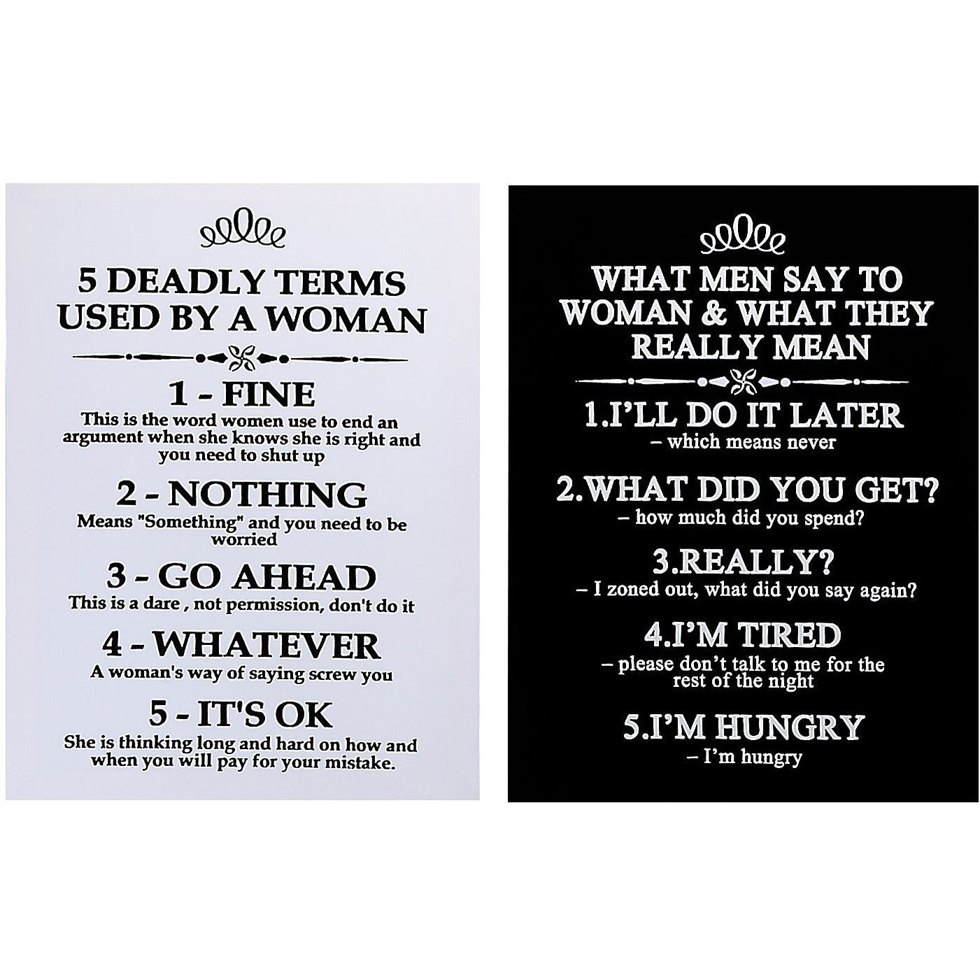 What men really mean