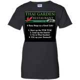 Ladies Thai Garden 100% Cotton T-Shirt