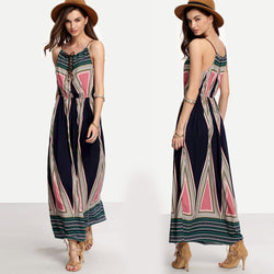 women dress plus size  Summer Boho