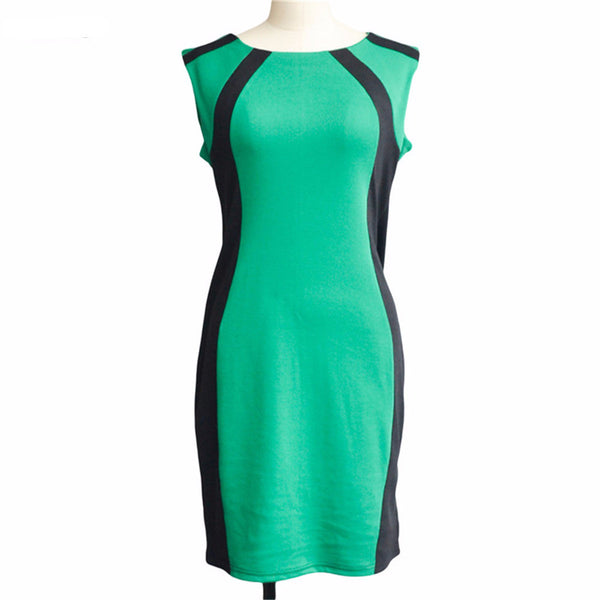 Summer Women Dress Casual Sleeveless