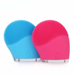 Face Cleanser Vibrate Pore Clean Silicone Cleansing Brush Massager