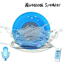 Free Shipping Bluetooth Speaker Handsfree Receive Call Suction Mic