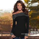 Women Autumn Blouse Fashion Long Sleeve