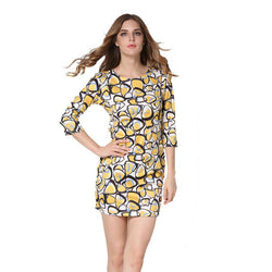 Women Sexy Floral Printed Dress