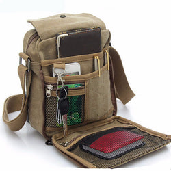 men messenger canvas bag