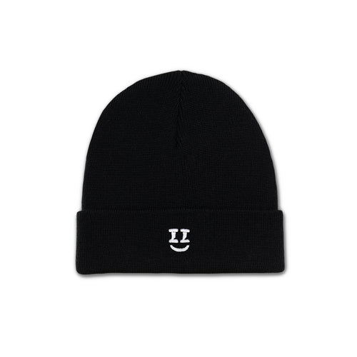 SMII7Y® | ICON BEANIE (BLACK)