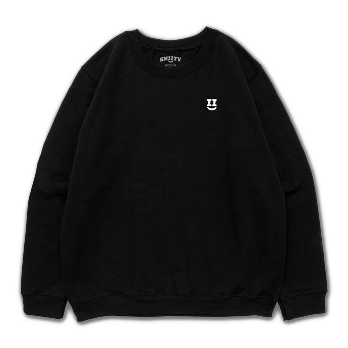 SMII7Y® | ICON CREWNECK (BLACK)