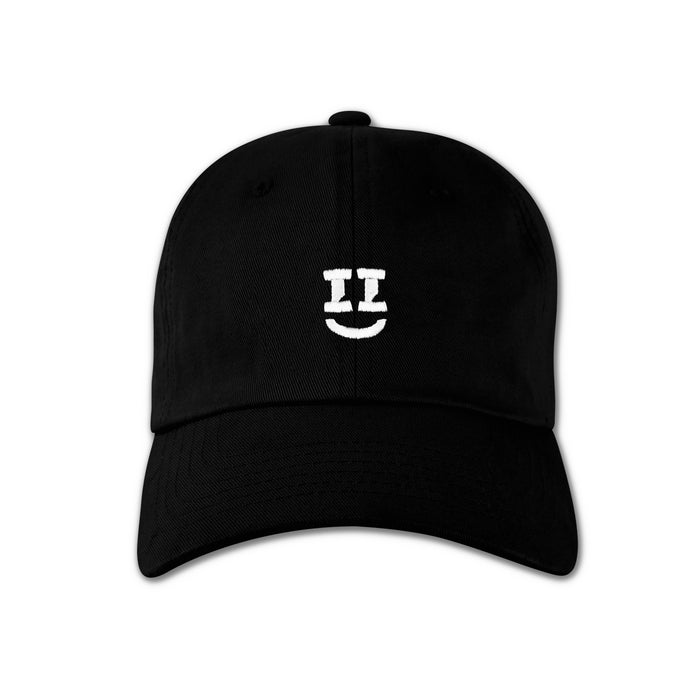 SMII7Y® | ICON DAD HAT (BLACK)