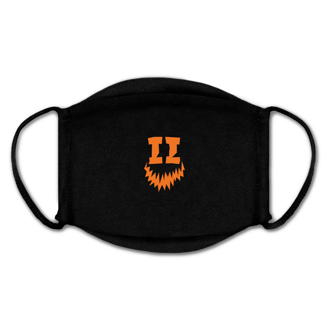 SMII7Y® | HALLOWEEN ICON FACE MASK (BLACK)