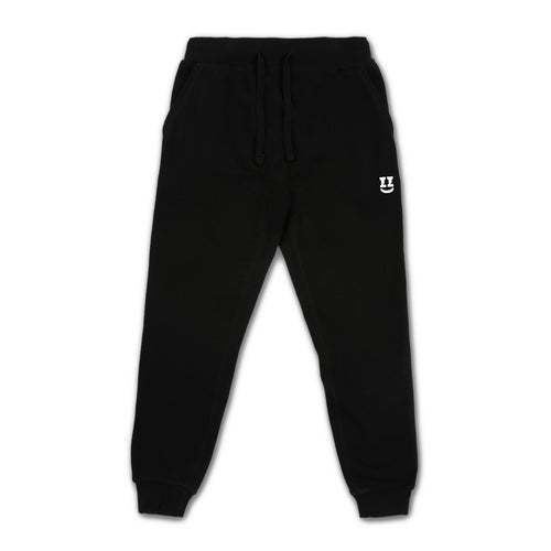SMII7Y® | ICON SWEATPANTS (BLACK)