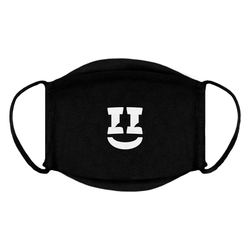 SMII7Y® | ICON FACE MASK (BLACK)