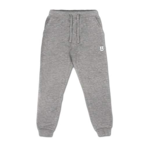 SMII7Y® | ICON SWEATPANTS (HEATHER GREY)