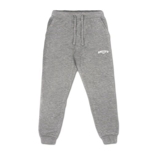 SMII7Y® | LOGO SWEATPANTS (HEATHER GREY)