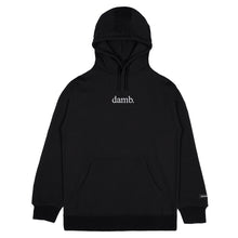damb. Embroidered Hoodie (BLACK)