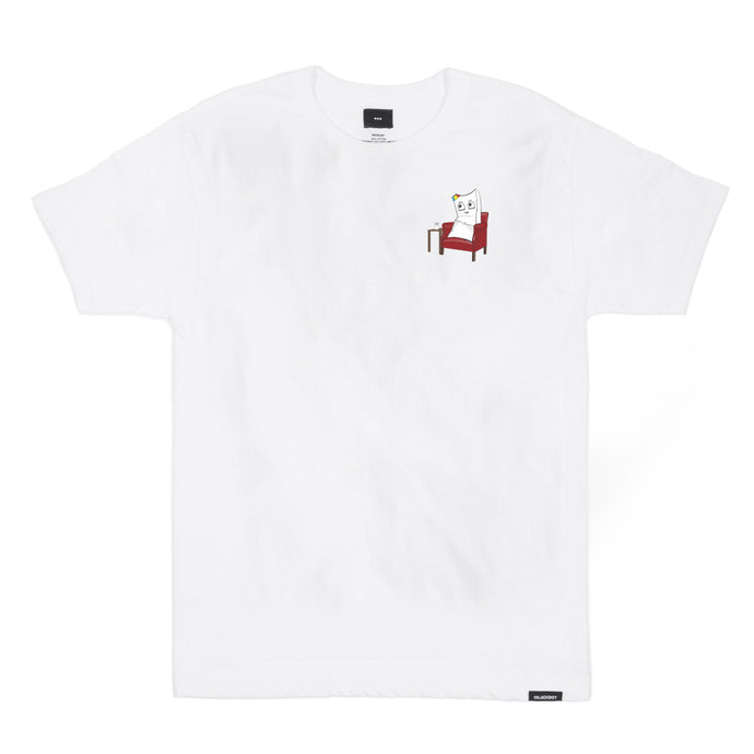 LIMITED EDITION LOUNGIN' TEE (WHITE)