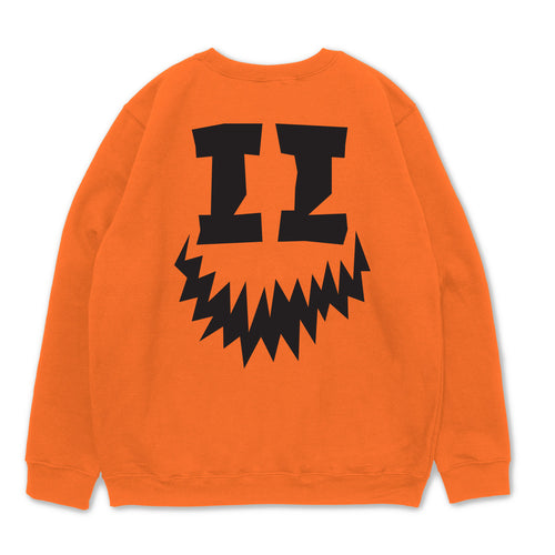 SMII7Y® | HALLOWEEN ICON CREWNECK (ORANGE)