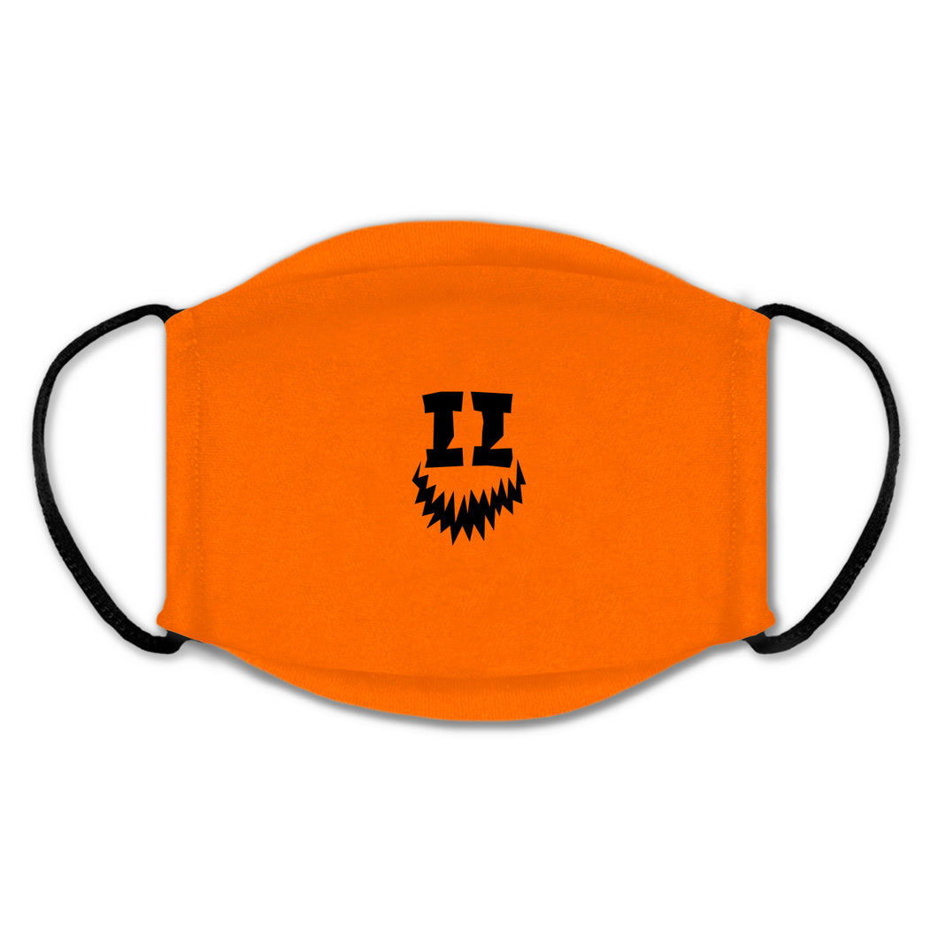 SMII7Y® | HALLOWEEN ICON FACE MASK (ORANGE)