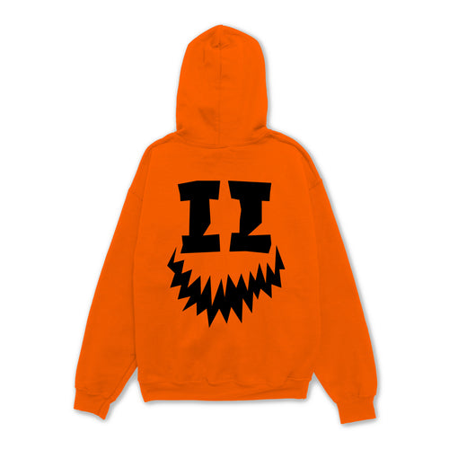 SMII7Y® | HALLOWEEN ICON HOODIE (ORANGE)