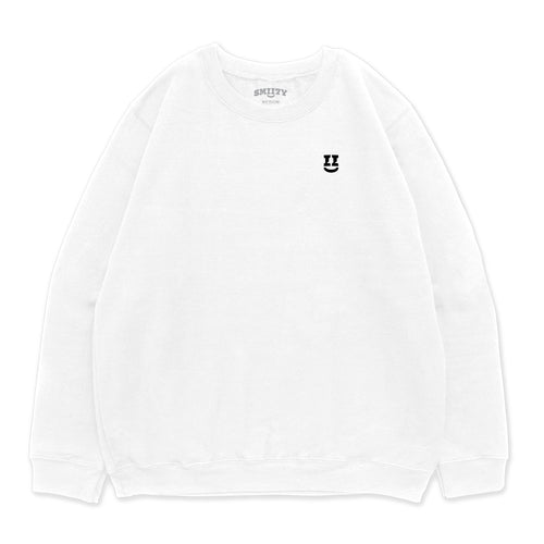 SMII7Y® | ICON CREWNECK (WHITE)