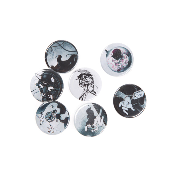 TOKiMONSTA FOVERE Pin Set