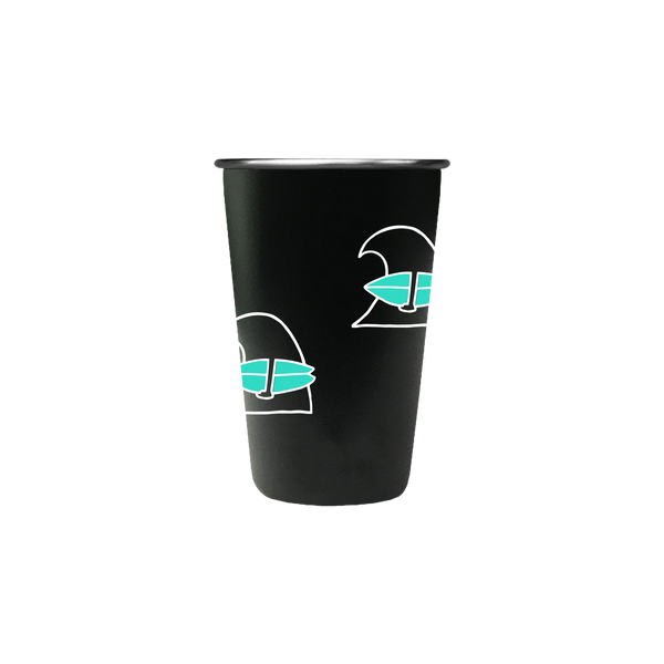 Surfing Wave Pint Cup
