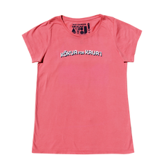 Ladies Coral Kauai Benefit Tee