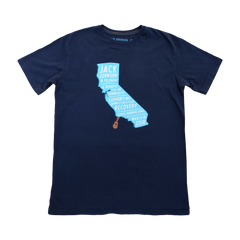 Men's Navy Benefit Tee