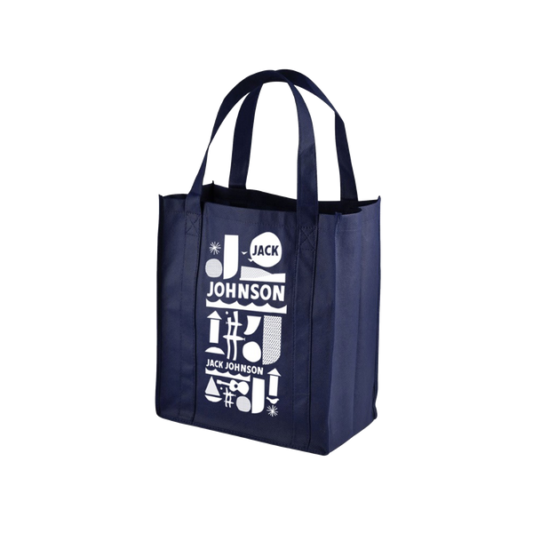 Navy RE2 Grocery Tote