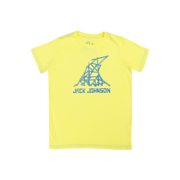 Kid's Yellow Wave Tee