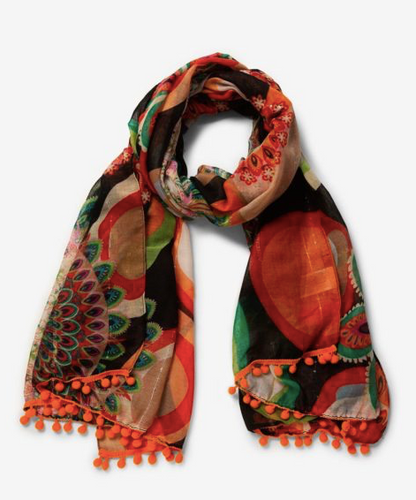 Afro Print Scarf