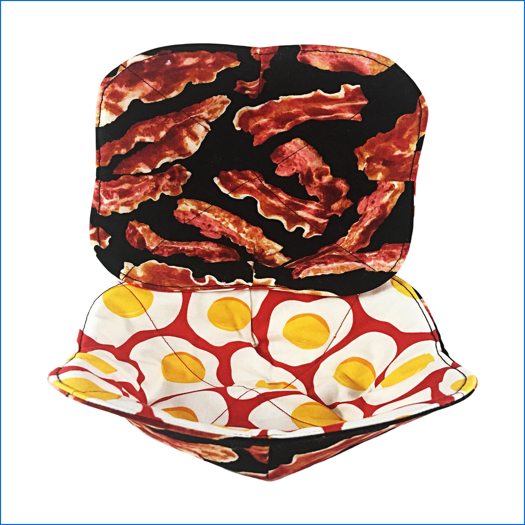 Bacon and Eggs Microwave Bowl Holder