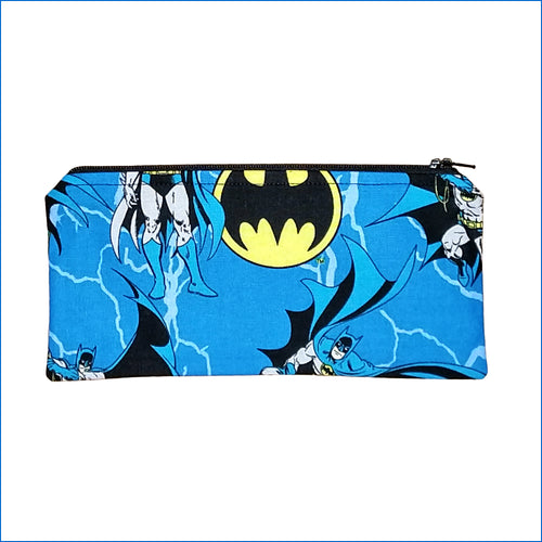 Batman's Blue Pencil Bag