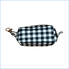 Black and White Checkered Bitty Bag