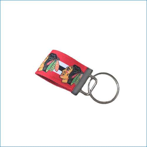Chicago Blackhawks Mini Key Fob - Karen's Kases