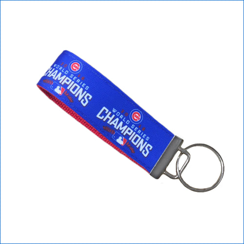 Chicago Cubs World Series Champions Key Fob - Karen's Kases