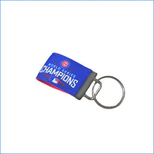 Chicago Cubs World Series Champions Mini Key Fob - Karen's Kases