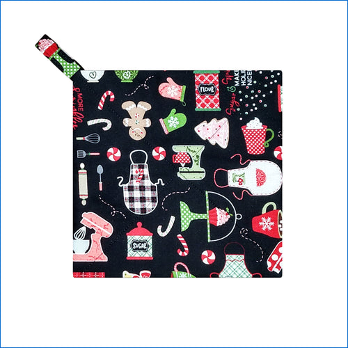 Christmas Knick Knacks Potholder
