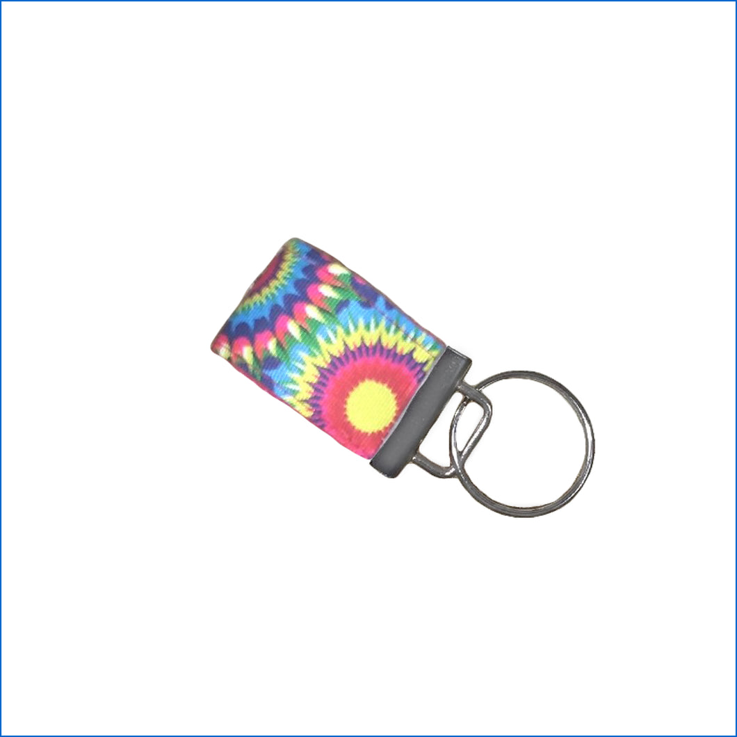 Sunflower Burst Mini Key Fob - Karen's Kases