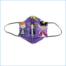 Costumes Purple Halloween Face Mask